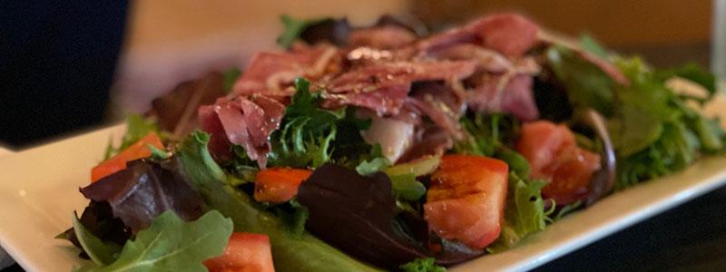 Salad at Blakes of Braselton