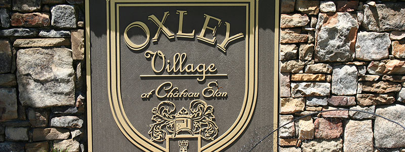 Oxley Village Chateau Elan Community and Real Estate information