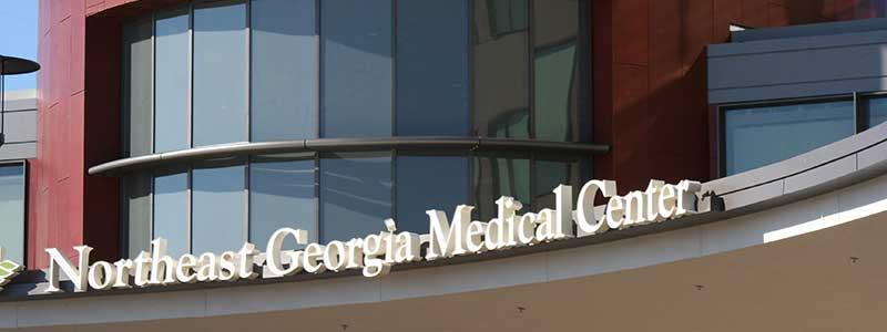 Northeast GA Medical Center Braselton front entrance